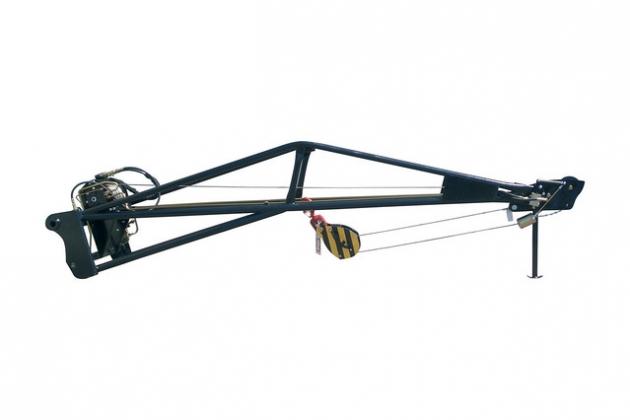 帶卷揚機的加長吊臂 1