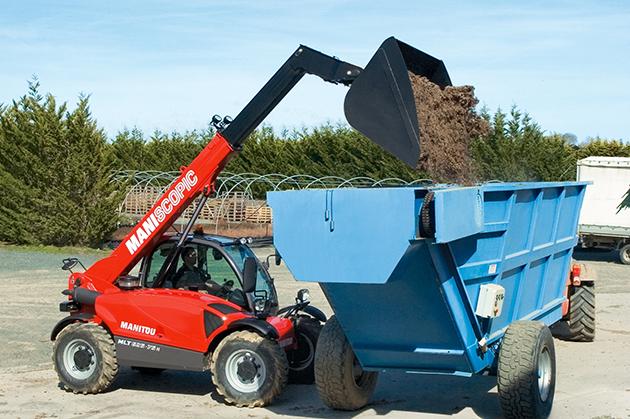 MLT-X 625 / 2.5噸 6米 農用型伸縮臂 7