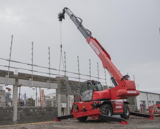 MRT-X 2550P+ / 5噸25米 旋轉型伸縮臂 3