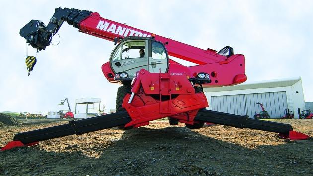 MRT-X 3255P+ / 5.5噸32米 旋轉型伸縮臂 5